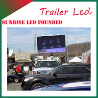 SUNRISE Outdoor LED mobile advertising Mini food truck/advertising scooter