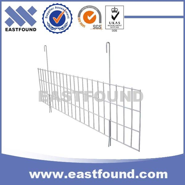 Pallet Rack Shelf Industrial Galvanized Wire Deck Divider