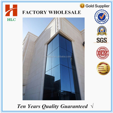 Commercial building hidden framing glass curtain wall from china manufacturer