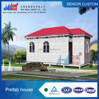 Modular home manufacture prefab villa for sale