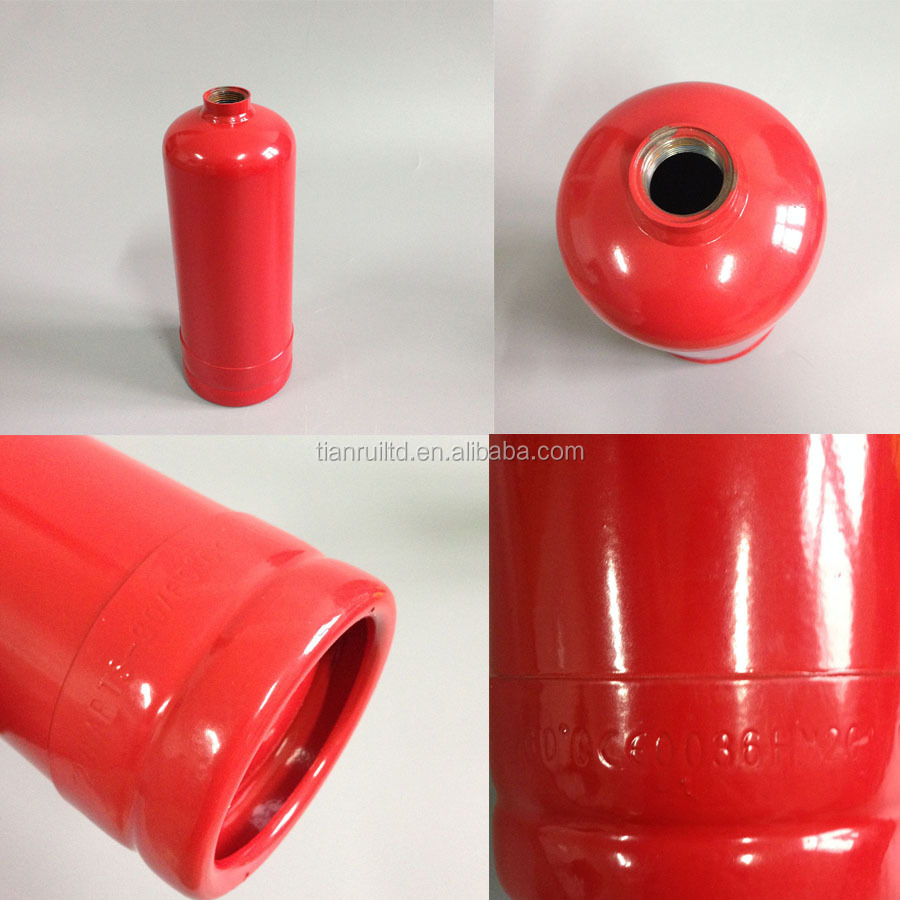 CE0036 Approval 1Kg Empty Fire Extinguisher Cylinder Stretching Cylinder