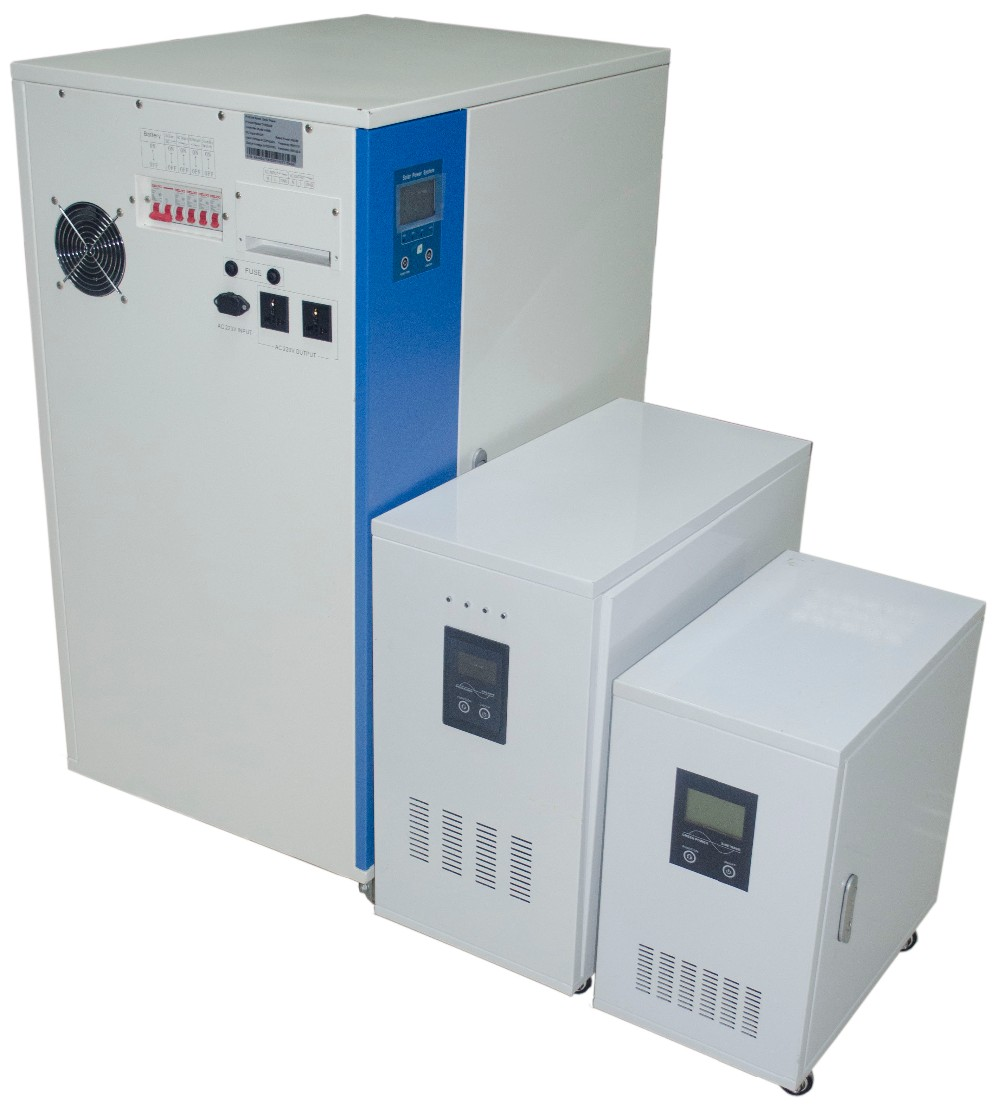 industrial use off grid pure sine wave output DC AC 1KW 3KW 5KW 220V solar power generator with inverter battery