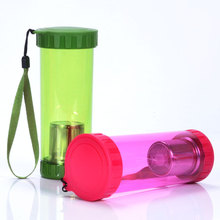 450ml poly bottle open both end painting
