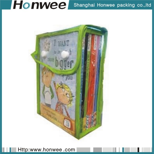 High quality custom promotional dvd cd gift bags