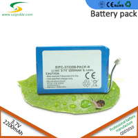 3.7V 2200mAh China Lipo Lithium Polymer LiFePO4 Battery Pack