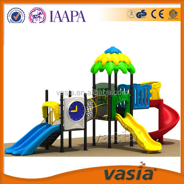 2015 Used cheap preschool kids outdoor play equipment playground for sale