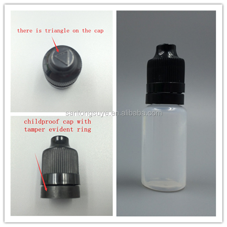 Zhejiang manufacturer 120ml PE plastic dropper bottle with childproof and tamperproof cap
