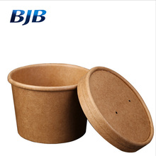custom printed disposable hot soup bowls kraft paper soup cups