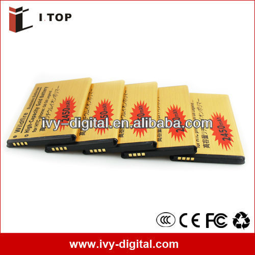 For HTC Legend G6 Gold battery,2450mAh