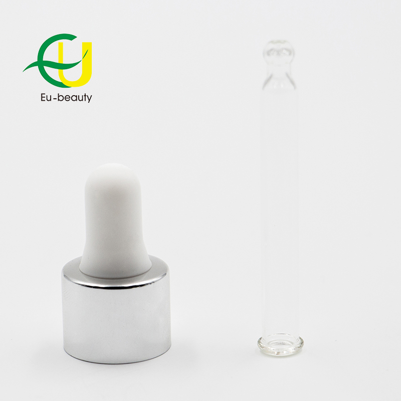 DIN 18 glass dropper for essential oil