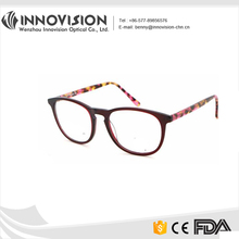 Artistic Acetate Pretty Patterns Temple Optical Frames In Italy