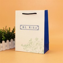 Custom Design Prmotional Recyclable wholesale coated paper bag good