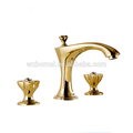 New style popular Dual hole Good Selling Brass Basin Faucet