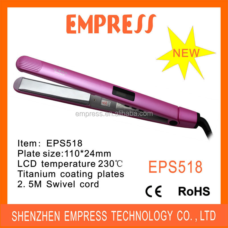 Hot Selling In USA!!!! New Model Mirror Plate Hair Straightener Mirror Hair Flat Iron EPS518