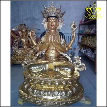 Indonesian resin art Meditating Buddha Statue sitting buddha statues for sale