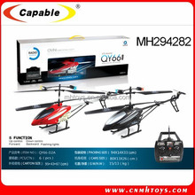 2 colors 3.5 CH battery operated helicopter drone with light RC diecast helicopter large with Gyro