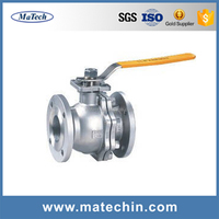 OEM 1 Inch WCB Ball Float Check Valve For Steam