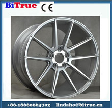 20 inch black rims with chrome lip 16x14 Best selling