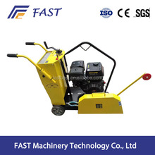 Diesel concrete floor saw