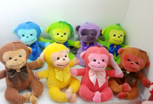 8 colors hot sale mascot small monkey