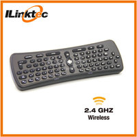 mini wireless keyboard with IR remote control for android TV dongle Googel TV for samsung smart tv