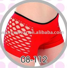 hot sexy lady seamless mesh panty boyleg