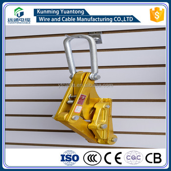 Aluminum Alloy Cable Wire Grip/Come Along Clamp/ Insulation card lines 25-400mm2
