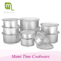 2015 Best sale modern style Aluminum metal cooking pot set
