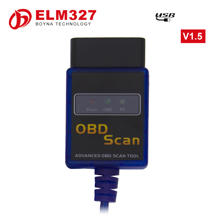 2016 car scanner software free For all OBD2 protocols vgate elm327 usb OBD2 scanner elm327