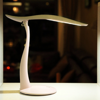 furniture hobby beautiful design desk lamp flexible shadeless table lamps with USB