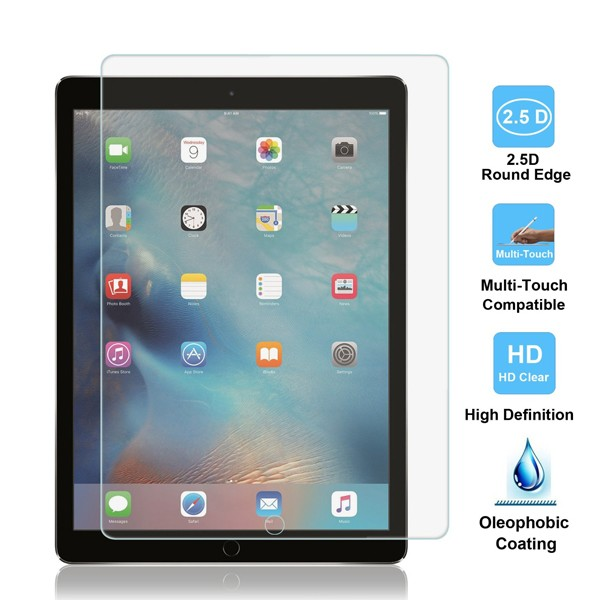 China Manufacture Pureglas Laptop Tempered Glass LCD Screen Protector for Ipad Pro
