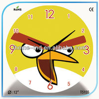 cartoon wall clock pictures for kids home decor