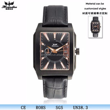 square case leather strap japan pc-21 movt mens watches xxcom for business man