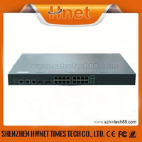 IEEE802.3at&af power over ethernet switch 10/100/1000m gigabit 16 port POE switches 48V