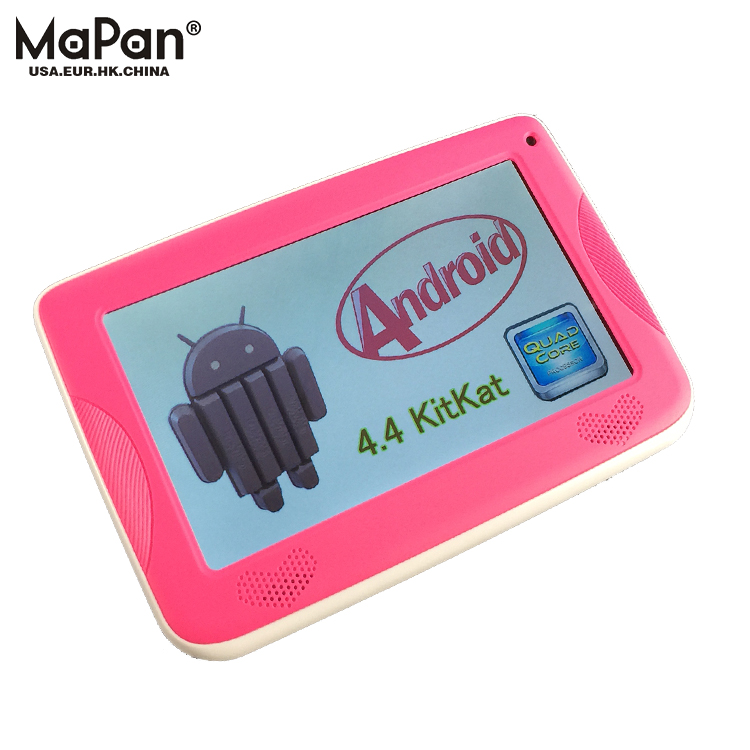 MaPan OEM cheap educational toys 7 inch Kids Tablet PC Cheap Android 4.4 Children for kids