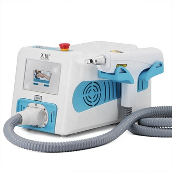 Portable high power q switch yag tattoo removal machine