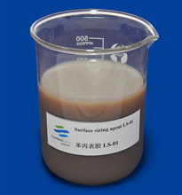 Japanese new technial 30% Cationic styrene acrylic surface Sizing Agent for corrugated kraft Paper Mills