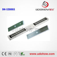 High quality 600bls Electromagnetic lock with LED and Feedback for two side door (DH-280GS)