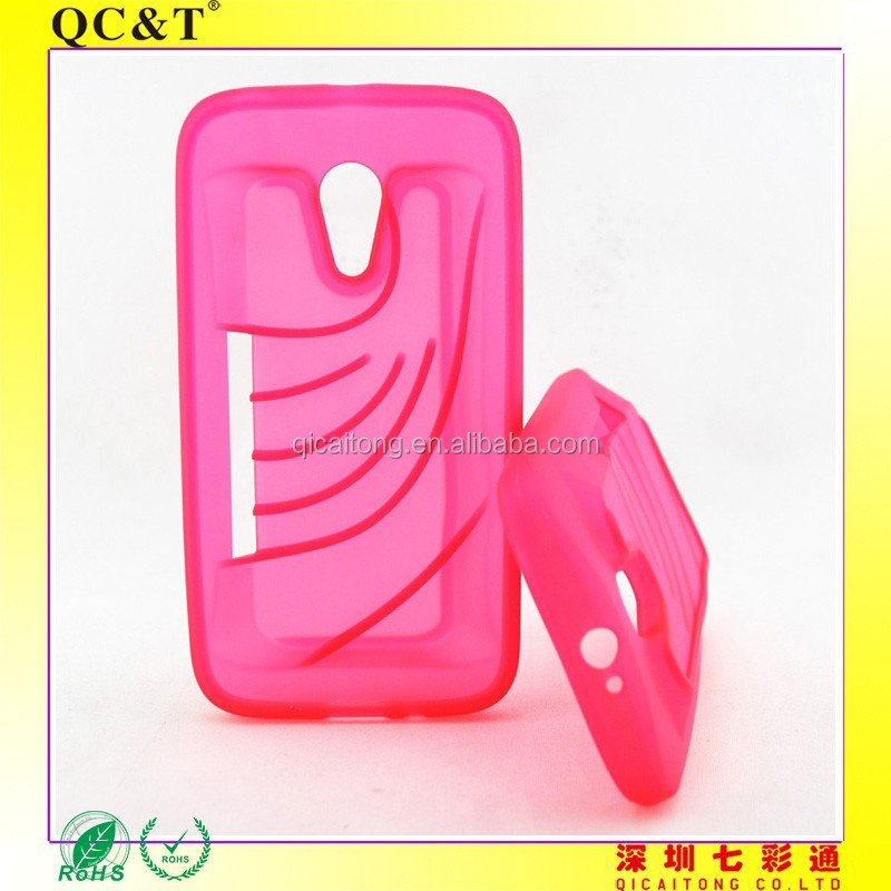 TPU mobile phone case with speaker function for Motorola Moto G XT1028 XT1032