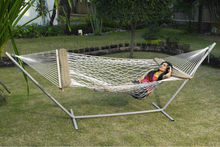 Cotton Rope Hammock with Softsides