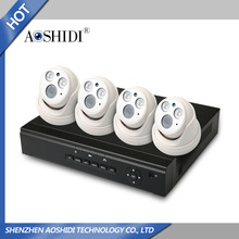 New HD 4ch IP cctv camera kits with NVR and POE security camera system