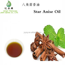 Pure Star Anise Essential Oil Yellow Central Bottled Drum Oil Hand And Feet Warming Oil
