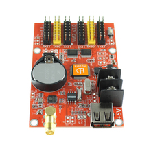 Low price HD-W62 led control card for fixed led display controller