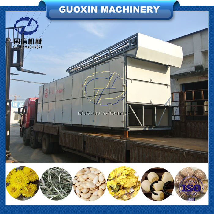 Low energy consumption and long life mesh belt dryer/fruit freeze drying machine