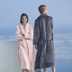 Factory Price Travel Shawl Collar Bath Robes Luxurious Robes for Women & Men long bathrobe