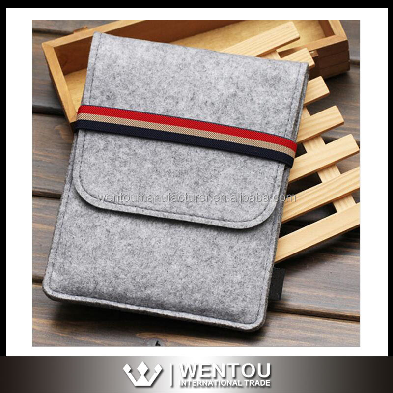 Custom Fit For Any 11 To 15 Inch Laptop Wool Felt Stripe Laptop Bag For MacBook