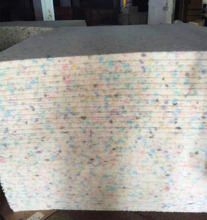 Factory OEM cheapest customized size polyurethane foam sheets compressed by recycled foam