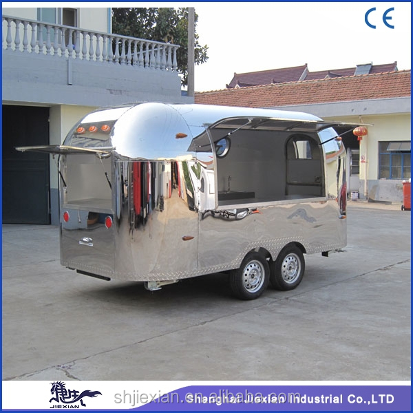 2017 JX-BT400 Newly desigh mobile road trailer for sale with high quality
