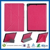 Best quality genuine belt clip leather sleeve for ipad