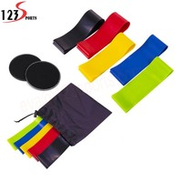 High Quality Different Strength Level Exercise Latex resistance band fitness